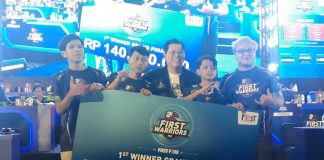 Lahirnya First Raiders, Tim Esports Profesional First Media, di First Warriors