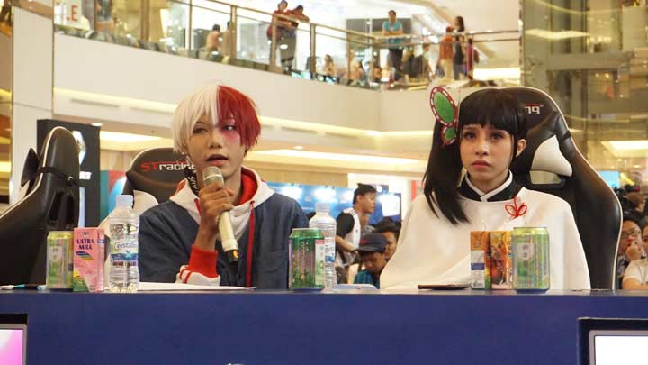 Cosplay Competition di Grand Final First Warriors Season 1