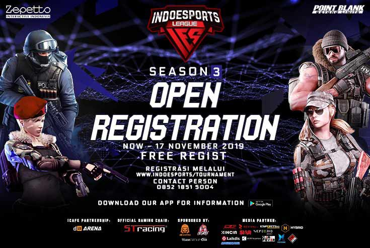 INDOESPORTS LEAGUE Point Blank X LG UltraGear Gaming Season 3
