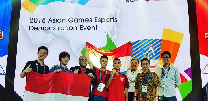 Richard 'nxlfrgdibtj' Permana Asian Games 2018 Esports