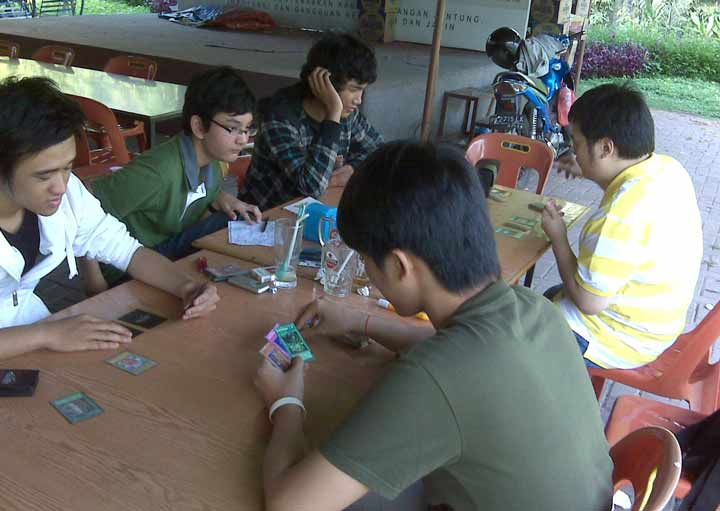 Berlangsungnya turnamen pertama Duelist Medan