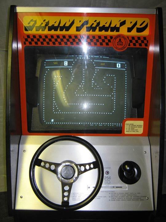 Foto Arcade game Gran Trak 10 yang dirilis pada tahun 1974. Credit: Wikimedia