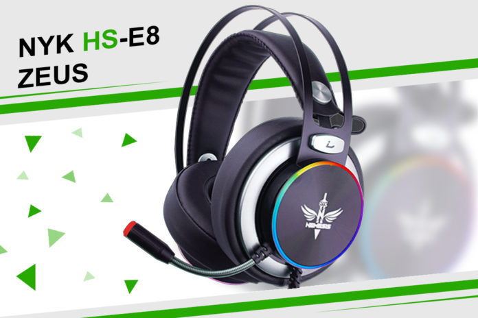 NYK HS-E8 Zeus: Surround Sound Gaming Headset