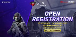 Pendaftaran INDOESPORTS League Mobile x Game.ly Call Of Duty Mobile Telah Dibuka!