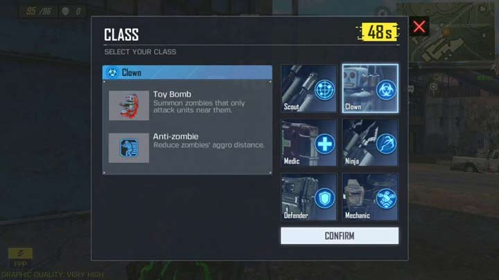 Call of Duty Mobile Battle Royale Class
