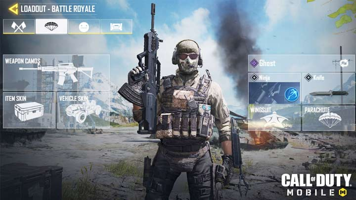 Loadout Call of Duty Mobile