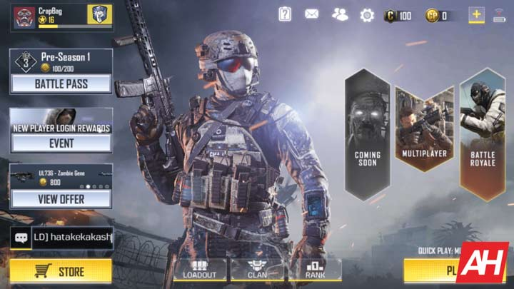 Gameplay Call of Duty: Mobile