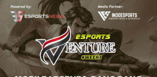 Esports Venture Week 1, Mini Online Weekly Esports Tournament