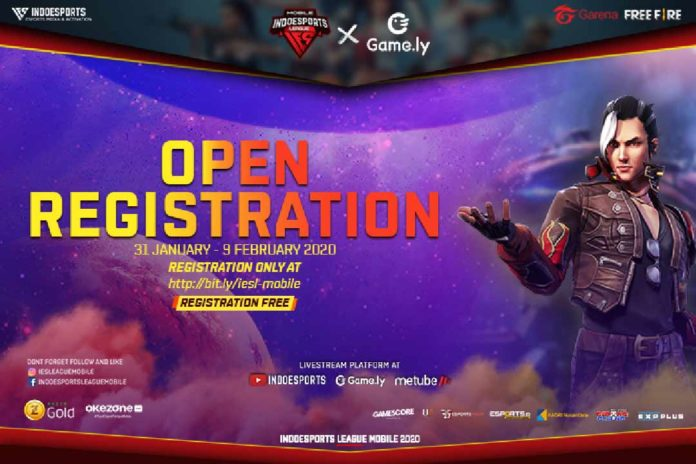 Registrasi INDOESPORTS League Mobile x Game.ly Free Fire Season 1