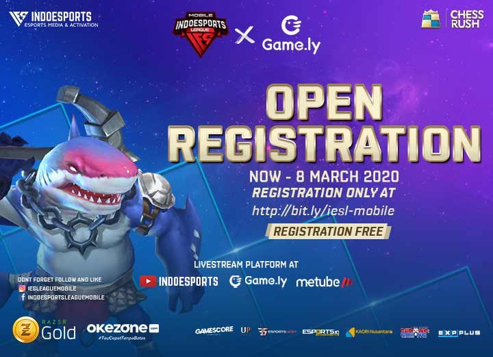 INDOESPORTS League Mobile X Game.ly Chess Rush Segera Dimulai!