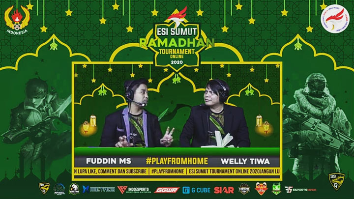 Streaming ESI Sumut Ramadhan Online Tournament Week 1