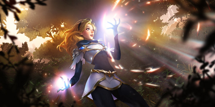 Lux Legends of Runeterra Champion