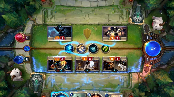 Legends of Runeterra: Gameplay