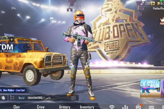 Menjadi Top Global PUBG Mobile
