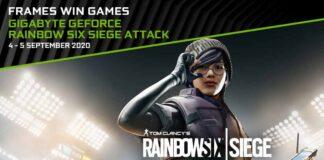 GeForce Gigabyte Rainbow Six Siege Attack
