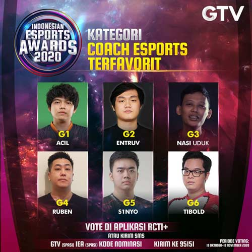 GTV Indonesian Esports Awards 2020
