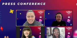 press conference indonesia gaming award 2020