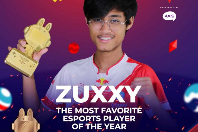 Zuxxy most favorite esports player indonesia gaming award 2020
