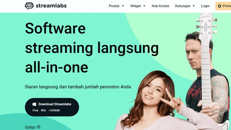 layanan streamlabs