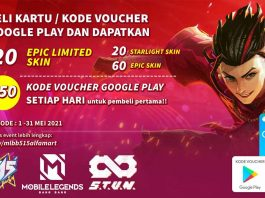 Cara Dapat Skin Gratis Mobile Legends di 515 Party Alfamart