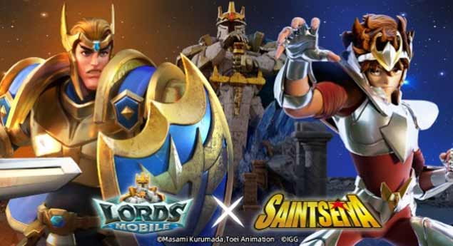 Lords Mobile X Saint Seiya
